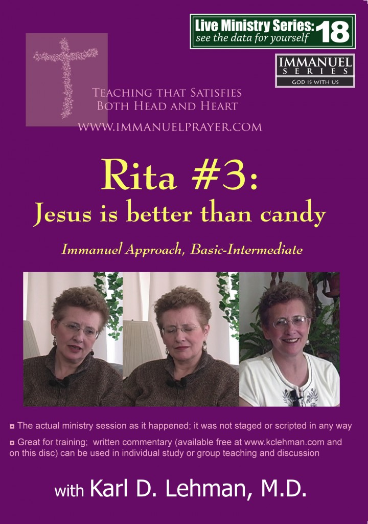 """(LMS #18) """"Rita #3: Jesus Is Better Than Candy"""""""